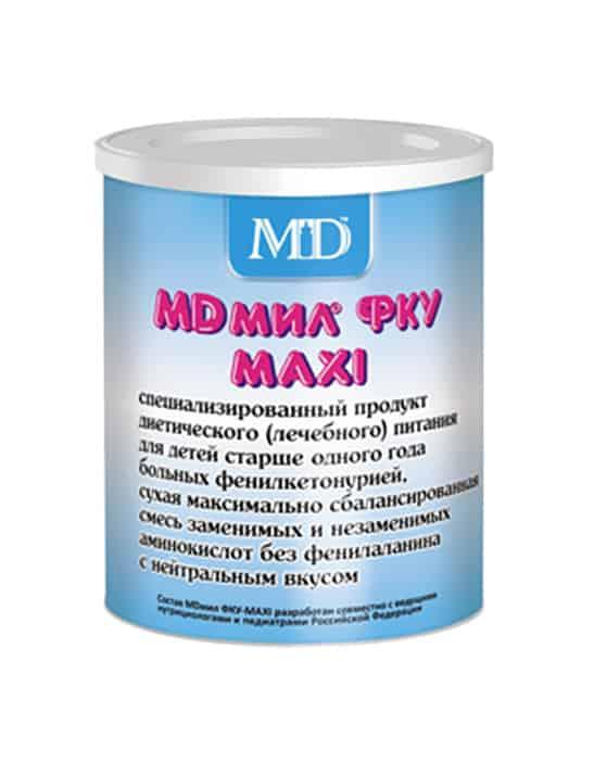 Фото препарата MD мил ФКУ МАХI сухая смесь 500г