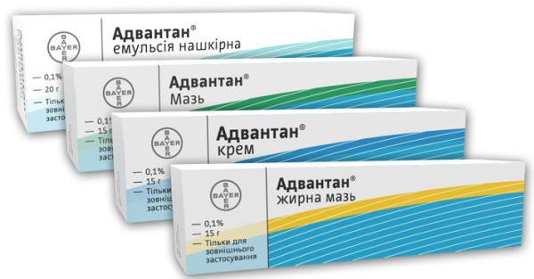 Фото препарата Адвантан крем 0,1% 50г