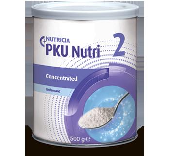 Фото препарата PKU Nutri 2 Concentrated с нейтральным вкусом сухая смесь 500г