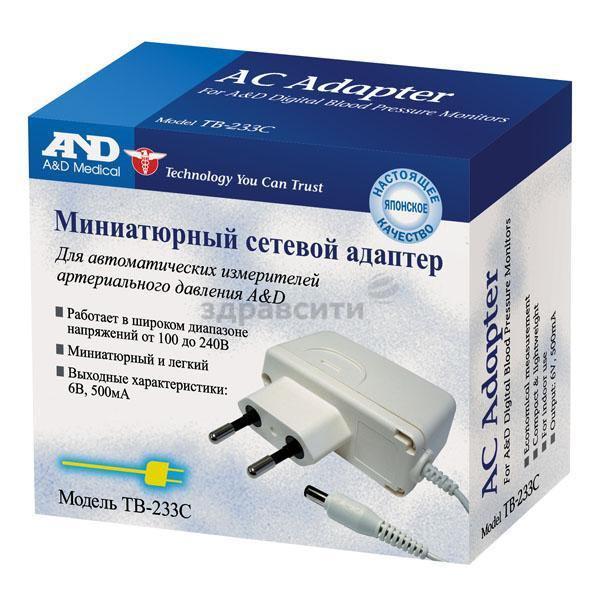 Фото препарата Адаптер сетевой ТВ-233С
