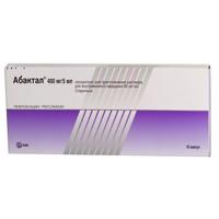 Фото препарата Абактал концентрат для приготовления инъекционного раствора 80мг/мл 5мл