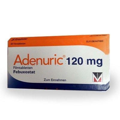 Фото препарата Аденурик таблетки 120мг