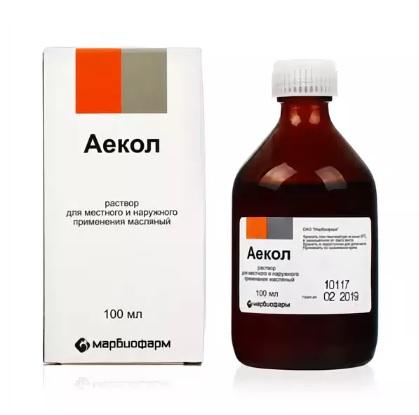 Фото препарата Аекол раствор масляный 100мл