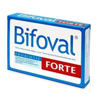 Фото препарата Bifoval forte капсулы по 340мг
