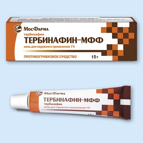 Фото препарата Тербинафин-МФФ мазь 1% 15г