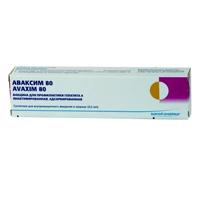Фото препарата Аваксим 80 суспензия для внутримышечных инъекций 0.5мл/доза 1дз шприц 0.5 мл