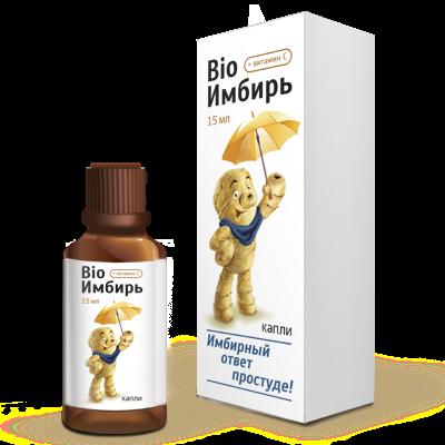 Фото препарата Bio Имбирь жидкость 15мл