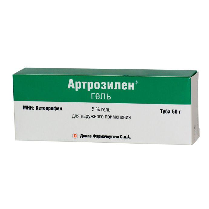 Фото препарата Артрозилен гель для наружного применения 5% туба 30 г