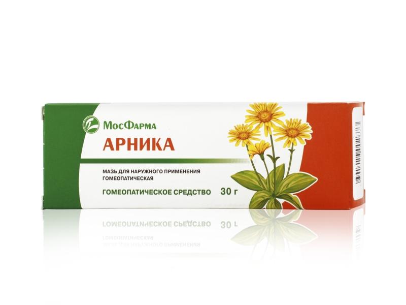 Фото препарата Арника мазь для наружного применения гомеопатическая туба 30 г