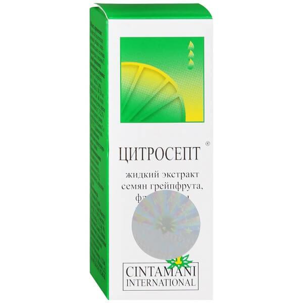 Фото препарата Цитросепт экстракт семян грейпфрута 50мл