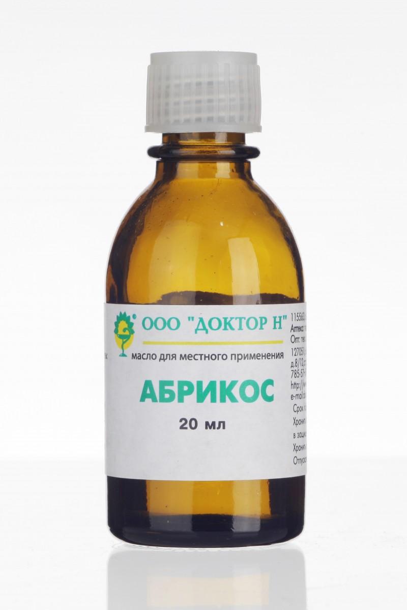 Фото препарата Абрикос масло для местного применения гомеопатическое 20мл