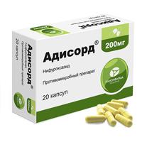 Фото препарата Адисорд капсулы 200 мг блистер