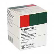 Фото препарата Агренокс капсулы с модифицированным высвобождением туба