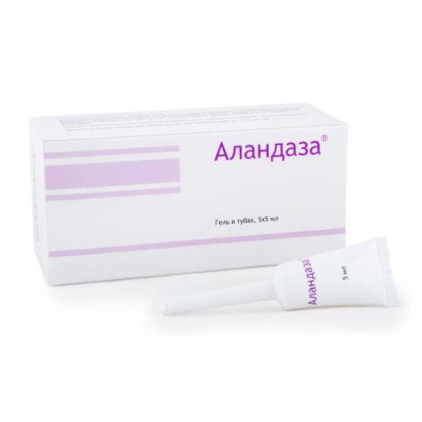Фото препарата Аландаза гель для интимной гигиены 5мл