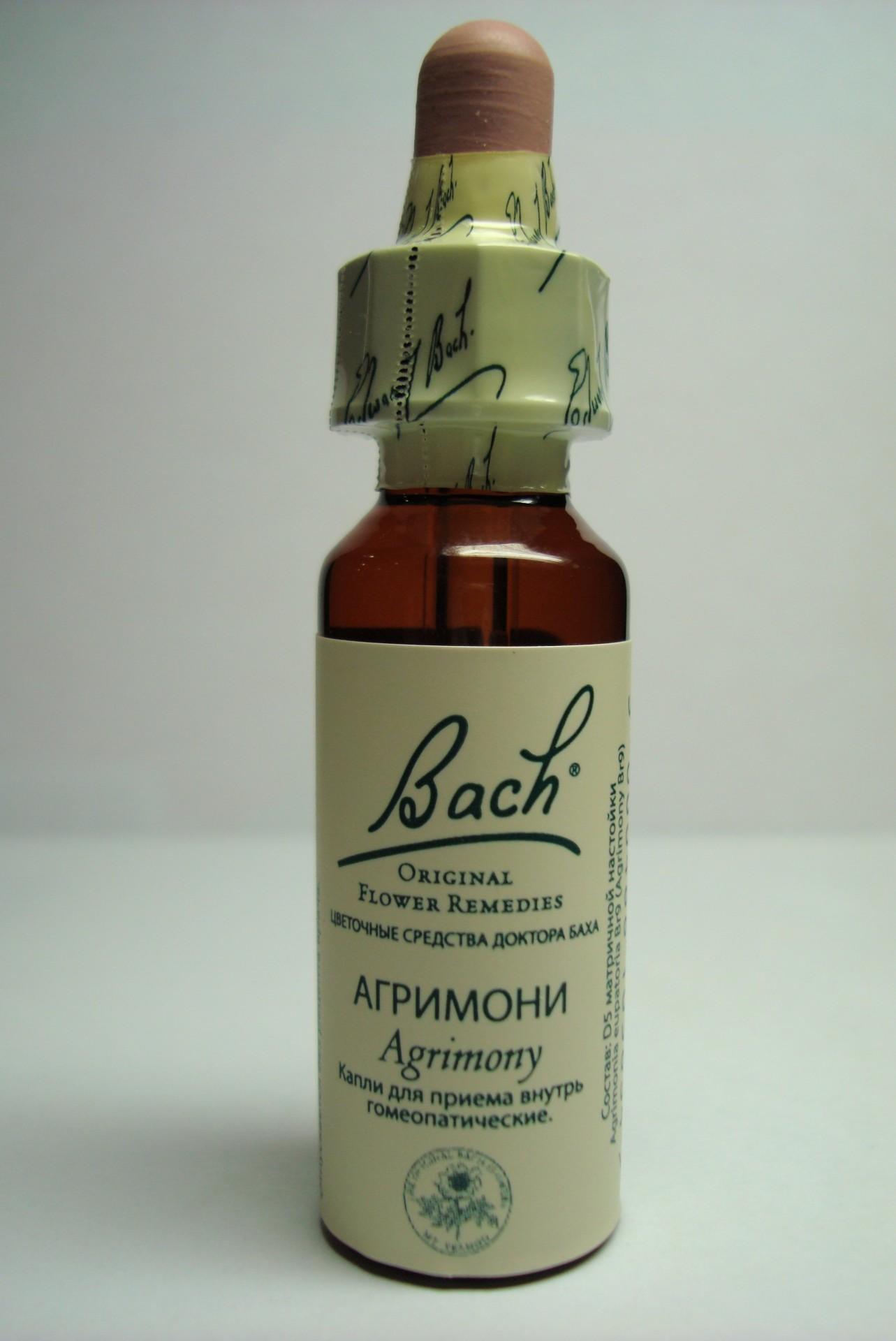 Фото препарата Агримони №1 Цветы Баха капли гомеопатические 10мл