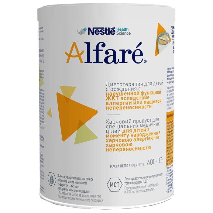 Фото препарата Альфаре смесь молочная сухая 400г
