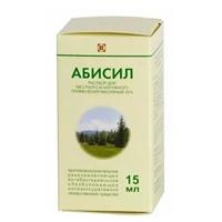 Фото препарата Абисил раствор для местного и наружного применения масляный 20% флакон темного стекла 15 мл
