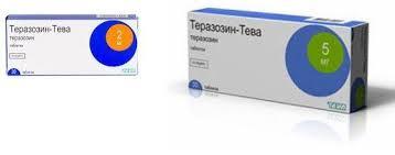 Фото препарата Теразозин-Тева таблетки 2 мг блистер