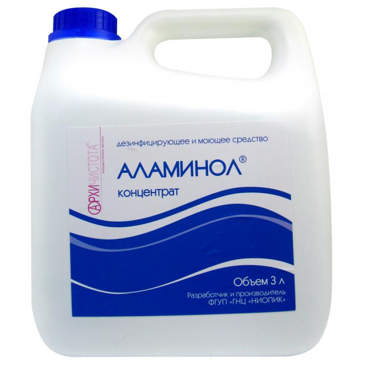 Фото препарата Аламинол средство дезинфицирующее 3л