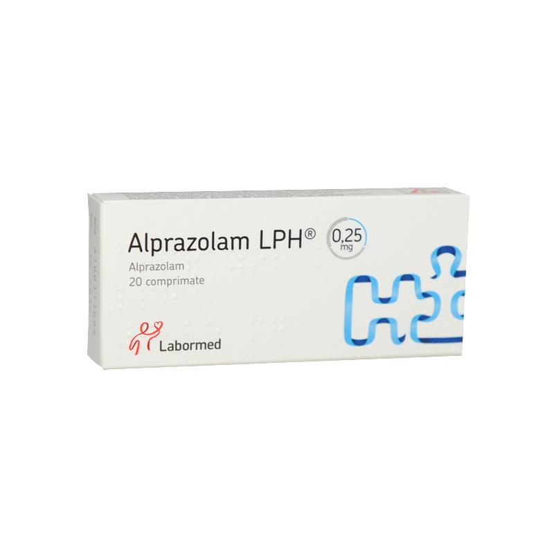 Фото препарата Алпразолам таблетки 0.25 мг блистер