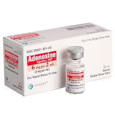 Фото препарата Аденоцин лиофилизат для приготовления раствора для внутривенного и внутримышечного введ ампула 90.875 мг