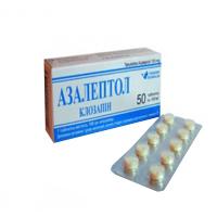 Фото препарата Азалепрол таблетки 100 мг блистер