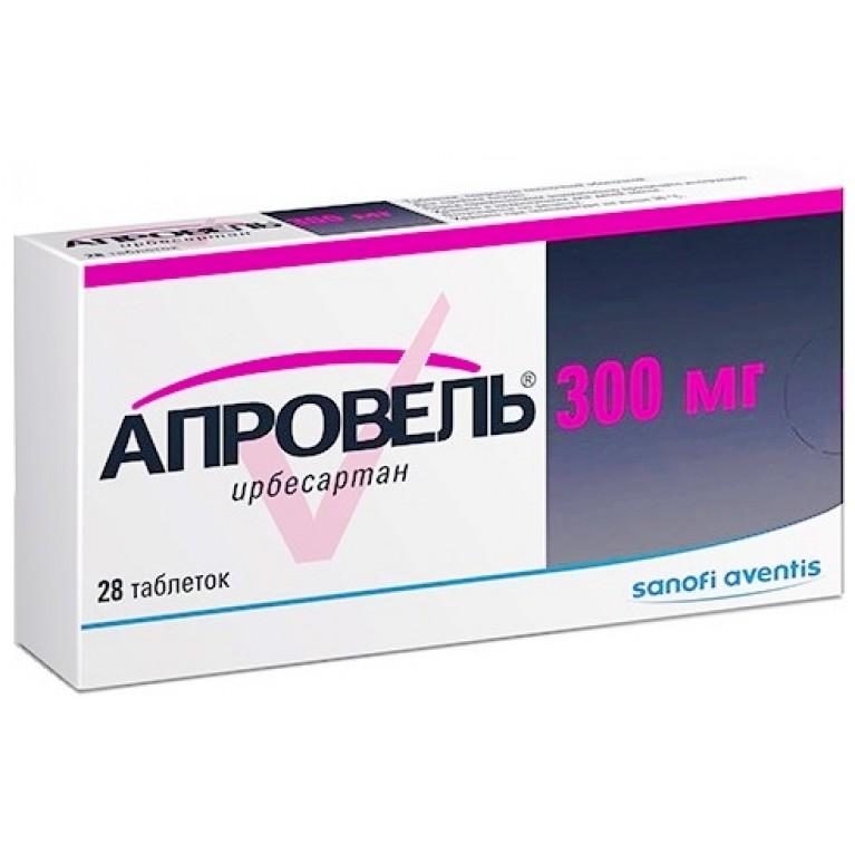 Фото препарата Апровель таблетки 300мг