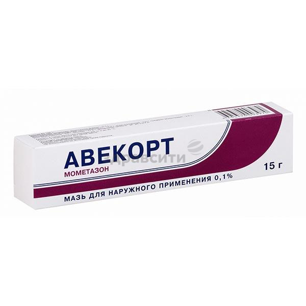 Фото препарата Авекорт мазь для наружного применения 0.1% туба 15 г