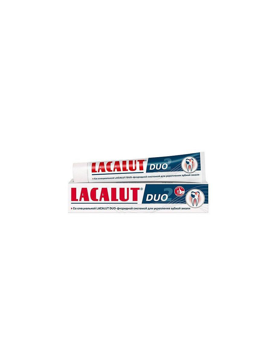 """Фото препарата Зубная паста """"Lacalut Duo"""" 75мл"""