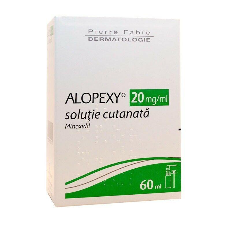 Фото препарата Алопекси раствор 2% 60мл