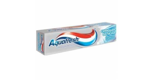 """Фото препарата Зубная паста """"Aquafresh"""" Сияющая белизна 100мл"""