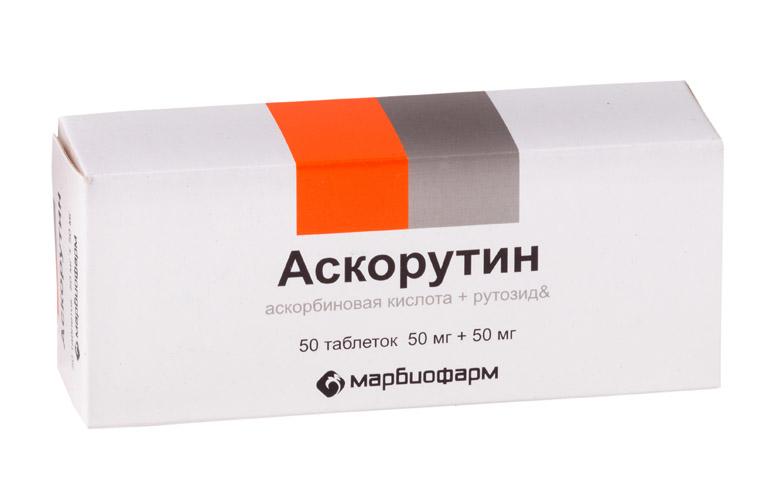 Фото препарата Аскорутин таблетки 50мг+50мг