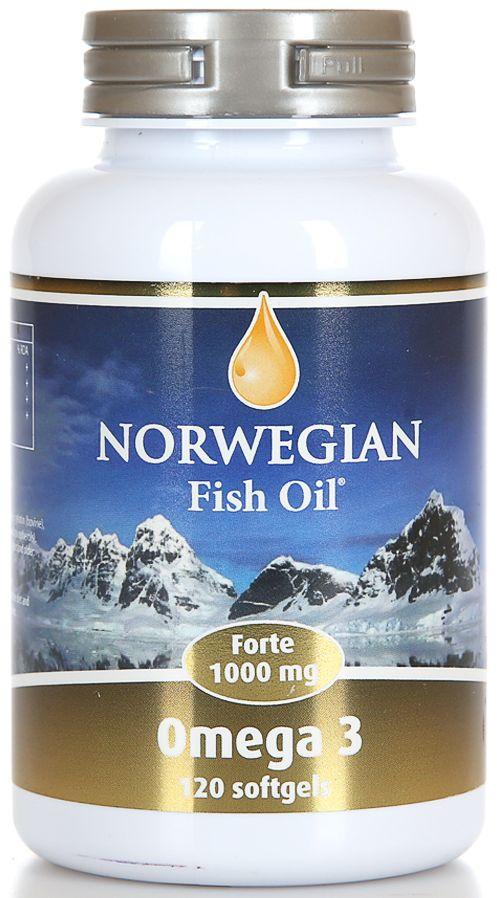 Фото препарата Norwegian Fish Oil Омега-3 Форте капсулы массой 1384мг