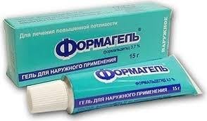 Фото препарата Формагель гель для наружного применения 3.7% туба 15 г
