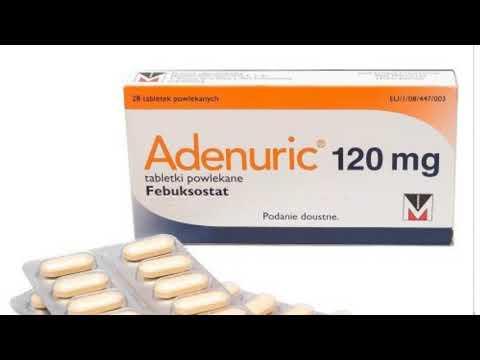 Аденурик таблетки 120мг