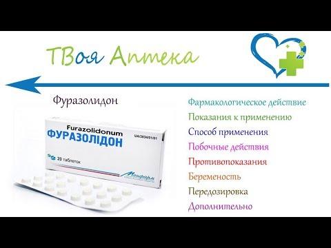 Фуразолидон таблетки 50мг