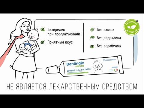 Краткий видео ролик о геле для десен Dentinale Natura