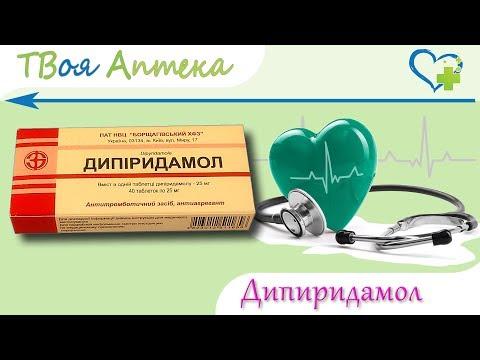 Дипиридамол таблетки 25мг