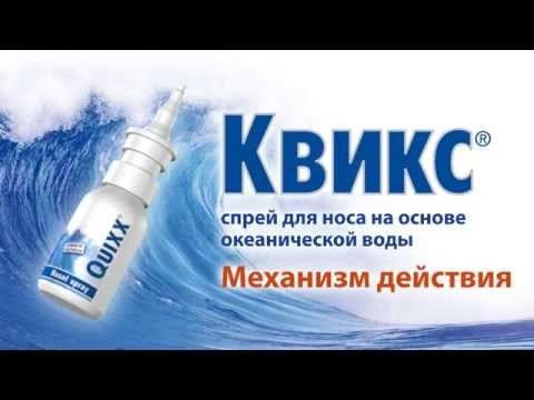 Краткий видео ролик о спрее Квикс